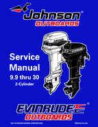1998 johnson evinrude  u0026quot ec u0026quot  9 9 thru 30 hp 2