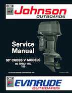 115HP 1992 J115MLEN Johnson outboard motor Service Manual