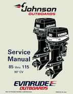 115HP 1995 J115JKLEO Johnson outboard motor Service Manual