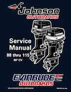 100HP 1996 100WMPLM Johnson/Evinrude outboard motor Service Manual