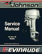 10HP 1988 10KSLM Johnson/Evinrude outboard motor Service Manual