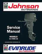 10HP 1992 J10SPLEN Johnson outboard motor Service Manual
