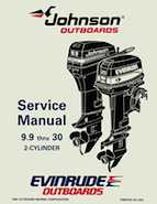 10HP 1995 10RPLH Johnson/Evinrude outboard motor Service Manual