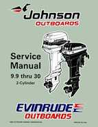 10HP 1997 10RPLT Johnson/Evinrude outboard motor Service Manual