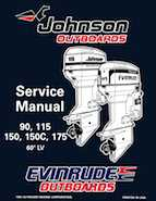 150HP 1996 J150NXED Johnson outboard motor Service Manual