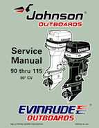 100HP 1997 100WTPLZ Johnson/Evinrude outboard motor Service Manual
