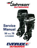 1995 Johnson/Evinrude Outboards 50 thru 70 3-cylinder Service Manual