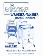 Maytag Wringer Washer Service Manual Preview